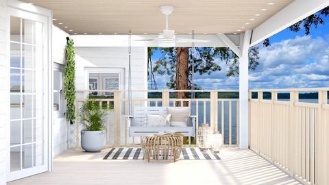 Summer Porch - by weinsteinfam