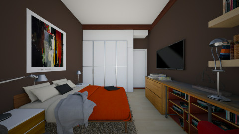 For Nikolai I - Modern - Bedroom  - by _Taz_