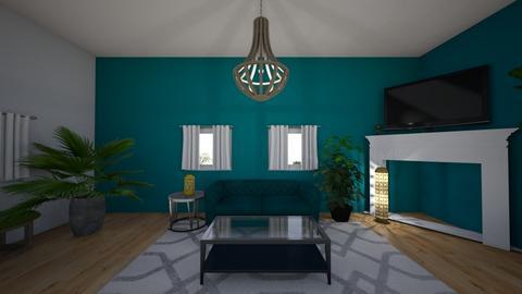 Rhone St  LR - Living room - by Deasye