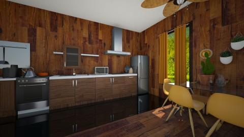 las - Kitchen - by sosna