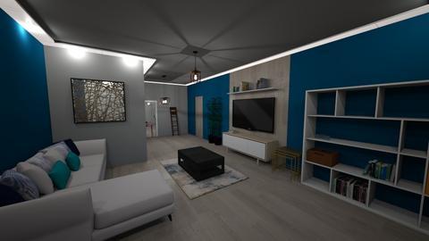 8050 Willow Glen Rd - Living room  - by sfurkan