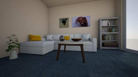 simple salon - Minimal - Living room - by MinzDesign