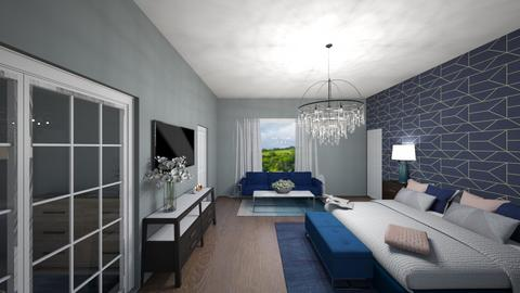 master suite - Bedroom  - by caitlynfhardy