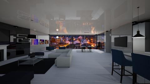 2115 Hillcrest - Living room  - by sfurkan