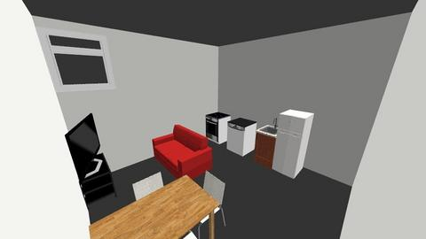 184 Noll Sofa and Table - Kitchen  - by travisamiel