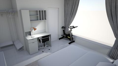 bed room  - Bedroom  - by aseelaalzarooni