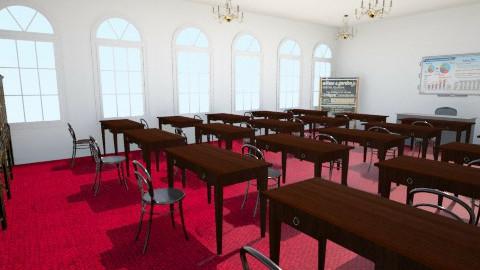 Classroom1 - Vintage - by ichigochi