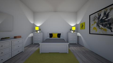 Your place - Minimal - Bedroom  - by Sofia Legaspi