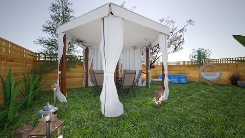 salon i ogrod - Classic - Garden  - by monek299