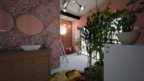 Cherry Blossom Bathroom - Bathroom  - by Carline1992