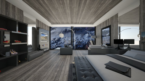 Shades of grey - Modern - Bedroom - by Gre_Taa
