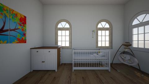 Kinderzimmer  - Kids room - by LaraMenzel