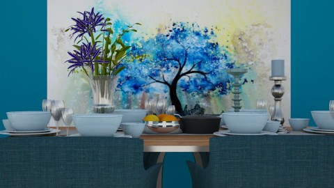 blusy dining - Classic - Dining room  - by Evangeline_The_Unicorn