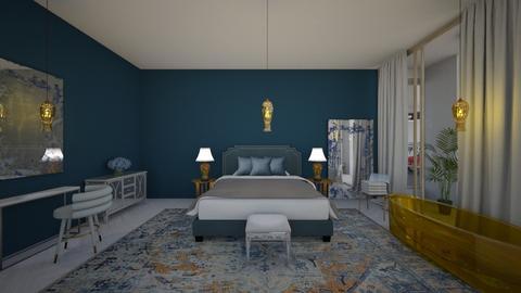 Glamour_bedroom1 - Bedroom  - by lovasemoke