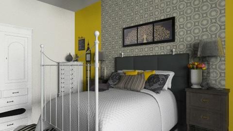 Yellow bedroom - Bathroom - by lokislc