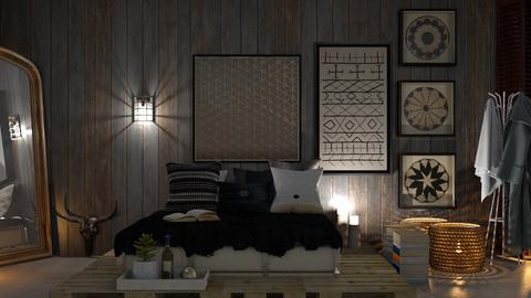 wooden wall - by Lo89