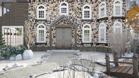 Alpine Interlude - Rustic - Bedroom  - by home designings