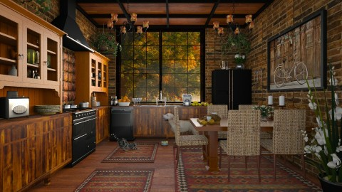 Design 182 Eat In Kitchen - Kitchen  - by Daisy320
