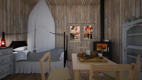 Stilt Village - Bedroom  - by SammyJPili