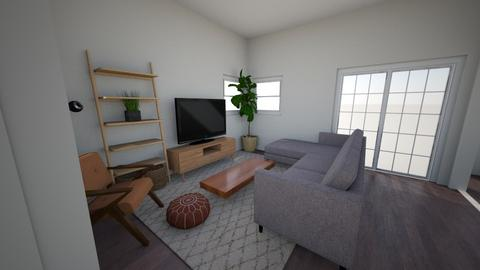 Living Room w Sectional - Living room  - by angelicathea