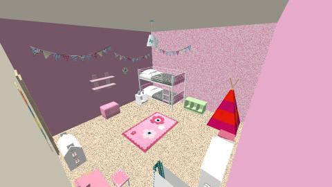 Little girls bedroom - Kids room - by Designmistress