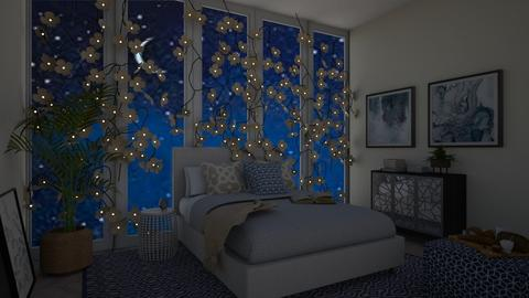 Navy night - Bedroom  - by Doraisthe_nameofmydoggo12345