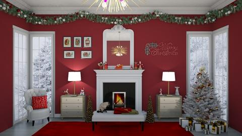 Matilda's Christmas Wall - by Matilda de Dappere