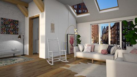 Modern attic - Modern - by tolo13lolo