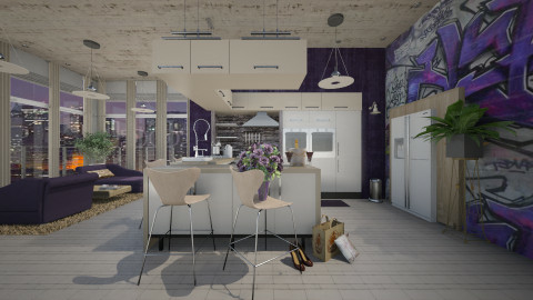 friday night - Modern - Kitchen - by starsector