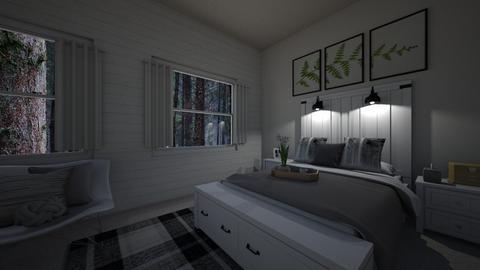Wood Wall - Bedroom  - by josielz