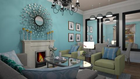 Mirror Mirror - Living room  - by nonanymous_