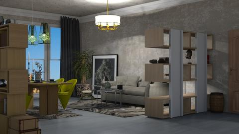 conran live room - Living room  - by nat mi