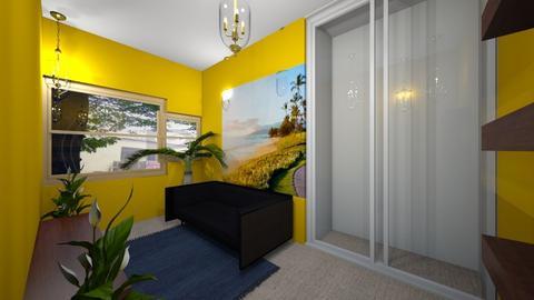 interior design scenario  - Living room  - by aturtle7