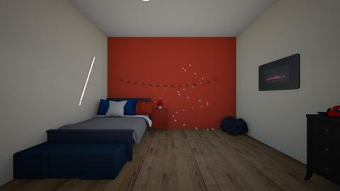 shotos dorm room - Bedroom  - by crying_room