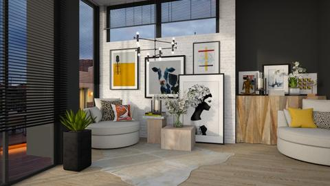 sunbeam - Living room  - by MiaM