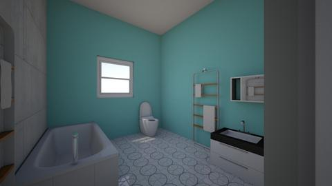 2nd fl main bath  latest - Bathroom  - by donnapal28