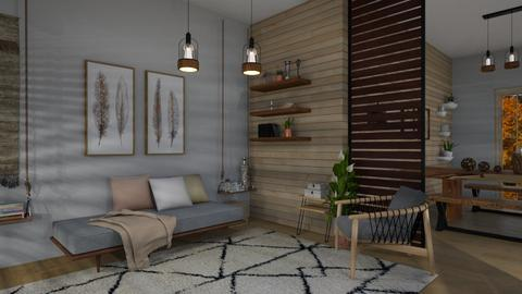 la casa de madera - Modern - Living room  - by patriicia popa