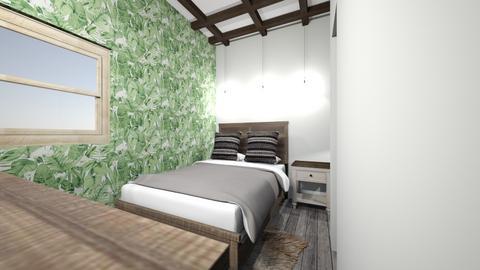 uni apartment - Classic - Bedroom  - by zaryah123