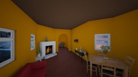 cozy winter house - by smirk4u