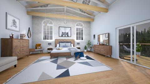 Grey Bedroom - by dannydevito