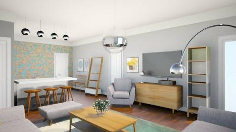 Beccas Room - Retro - Living room  - by camilla_saurus