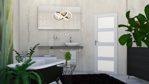 jungle - Bathroom  - by deleted_1635239901_Sirtzuu93