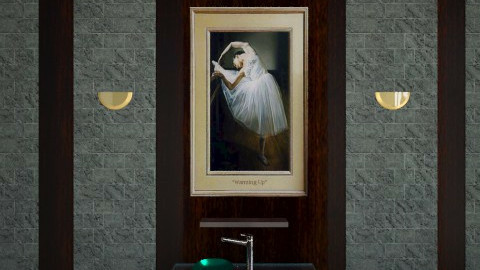 Counting Stars - Bathroom  - by Sara alwhatever