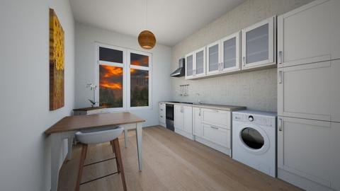 Here - Classic - Kitchen  - by Twerka