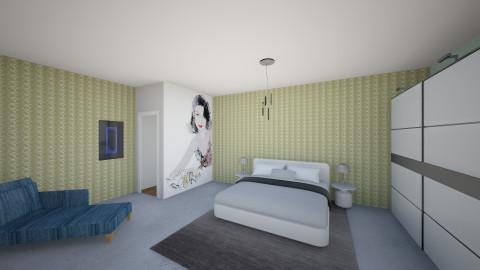 retrostudio1 - Retro - Bedroom  - by Jacqueline De la Guia