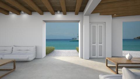 518 - Minimal - Living room  - by Claudia Correia