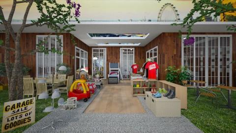 Venda de  Garagem - Garden  - by Maria Helena_215