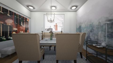 farmhouse dining room  - Dining room  - by tessmcquillan