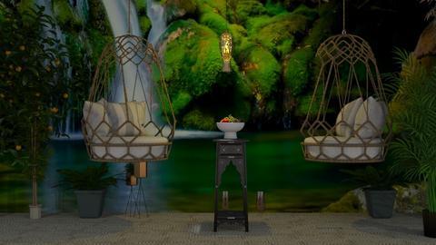 nature living room  - Eclectic - Garden  - by wijesinghe
