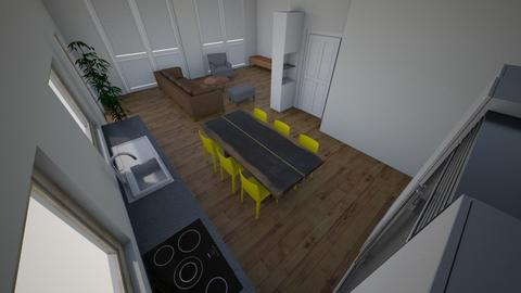 Living Room and Kitchen 9 - Living room  - by ellape